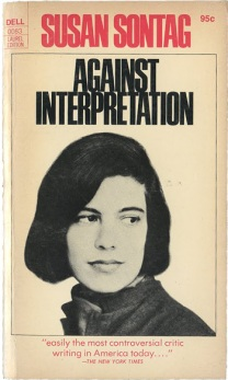 sontag against interpretatin 1966