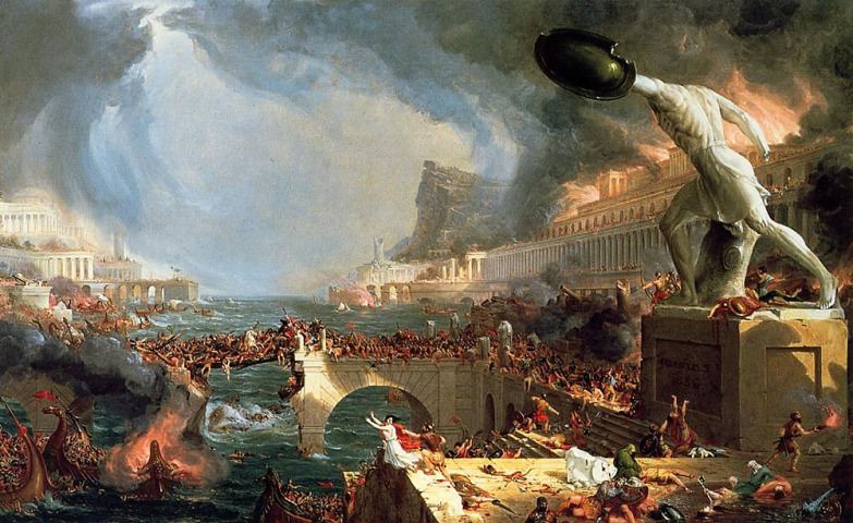 Thomas Cole, The course of Empire - Destruction, 1836