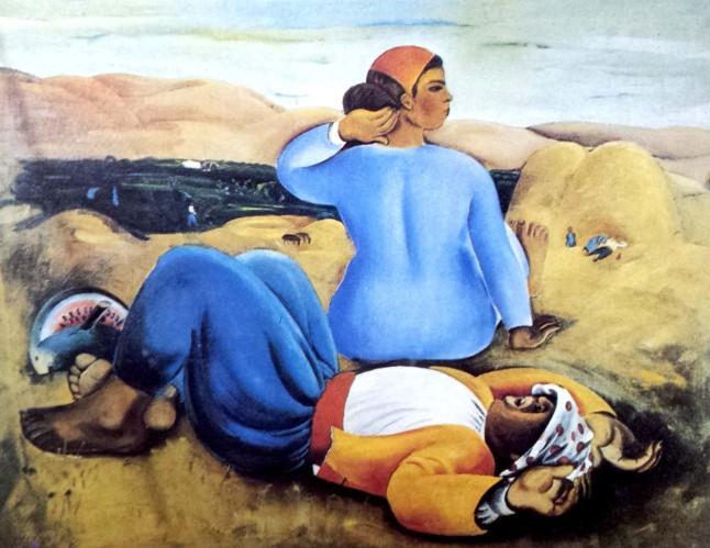 מנוחה בצהריים - נחום גוטמן - מתוך המחר של אתמול - מאת אלבוים דרור
