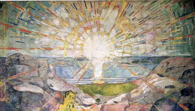 Munch - the-sun-1916